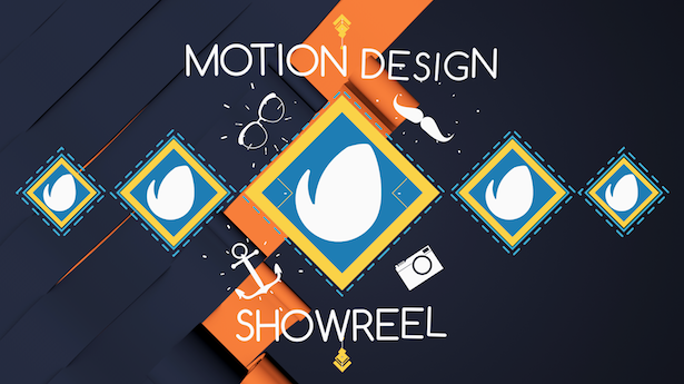 motion design showreel logo opener abstract after