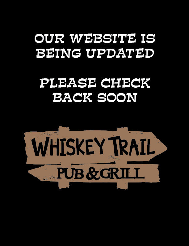 Whiskey Trail Party Menu