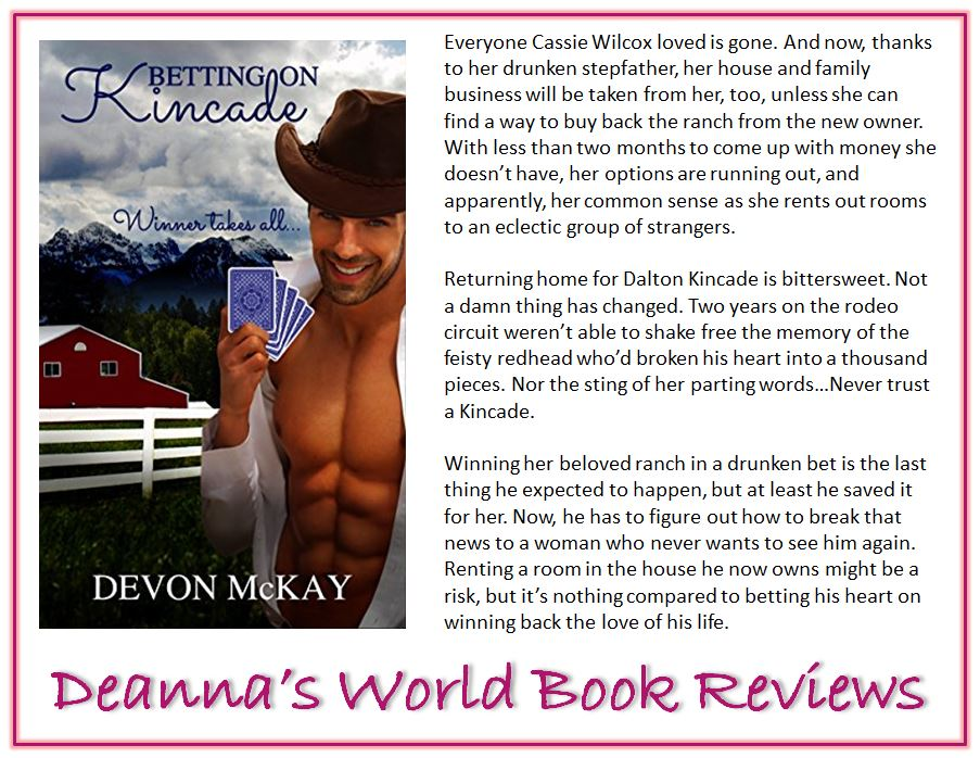 Betting On Kincade by Devon McKay blurb