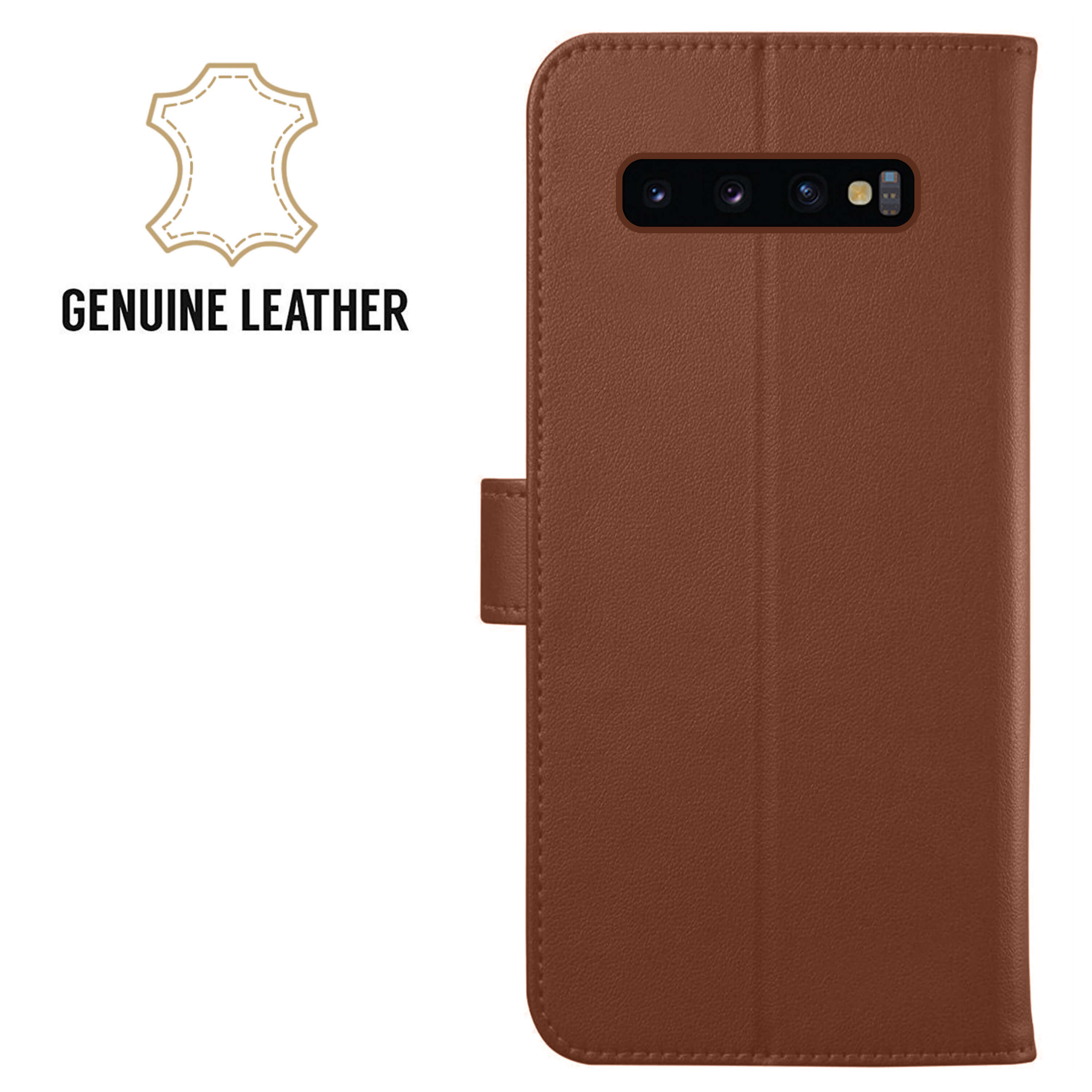 Leather-Flip-Wallet-Magnetic-Case-Cover-For-Samsung-Galaxy-S10-Plus-S9-S8-A50 thumbnail 25
