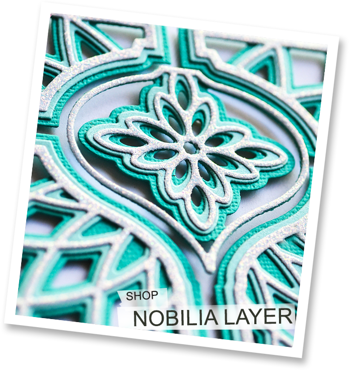 Nobilia Ornament Layer Plate
