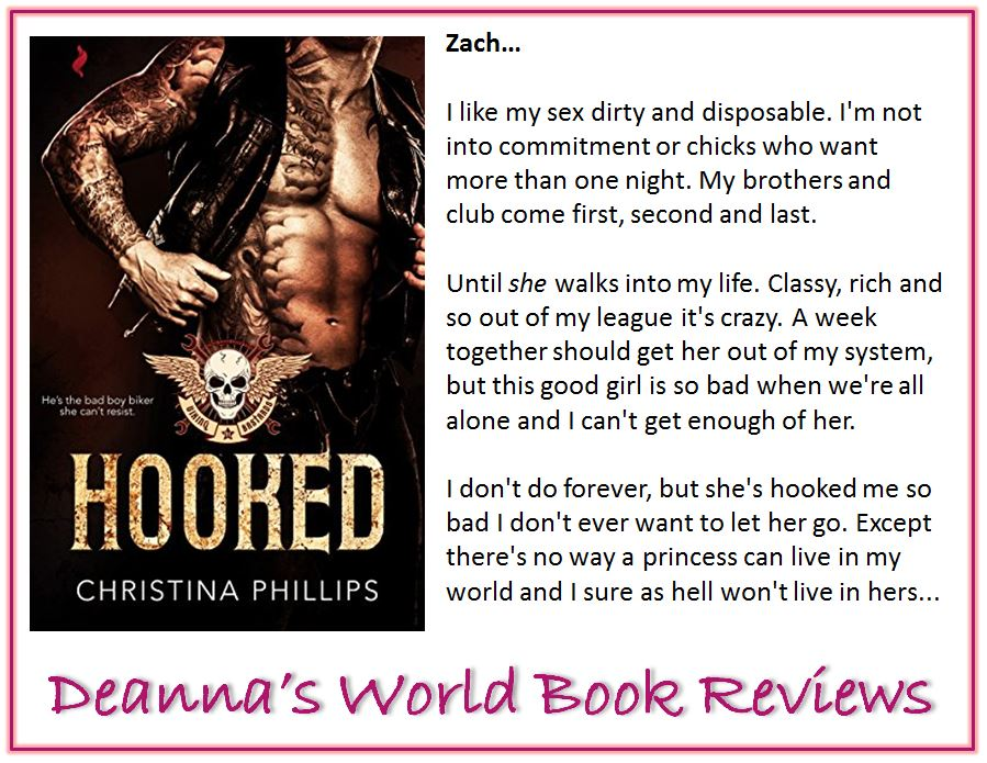 Hooked by Christina Phillips blurb