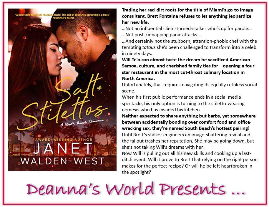 Salt and Stilettos by Janet Walden-West blurb