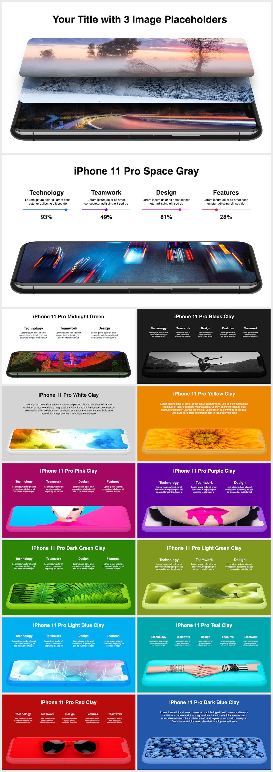Huge Infographics Bundle! Lifetime Updates! PowerPoint, Photoshop, Illustrator. - 76