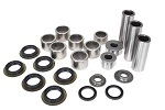 Rear Suspension Linkage Bearings and Seals Kit Kawasaki KX80 1998 1999 2000 2001