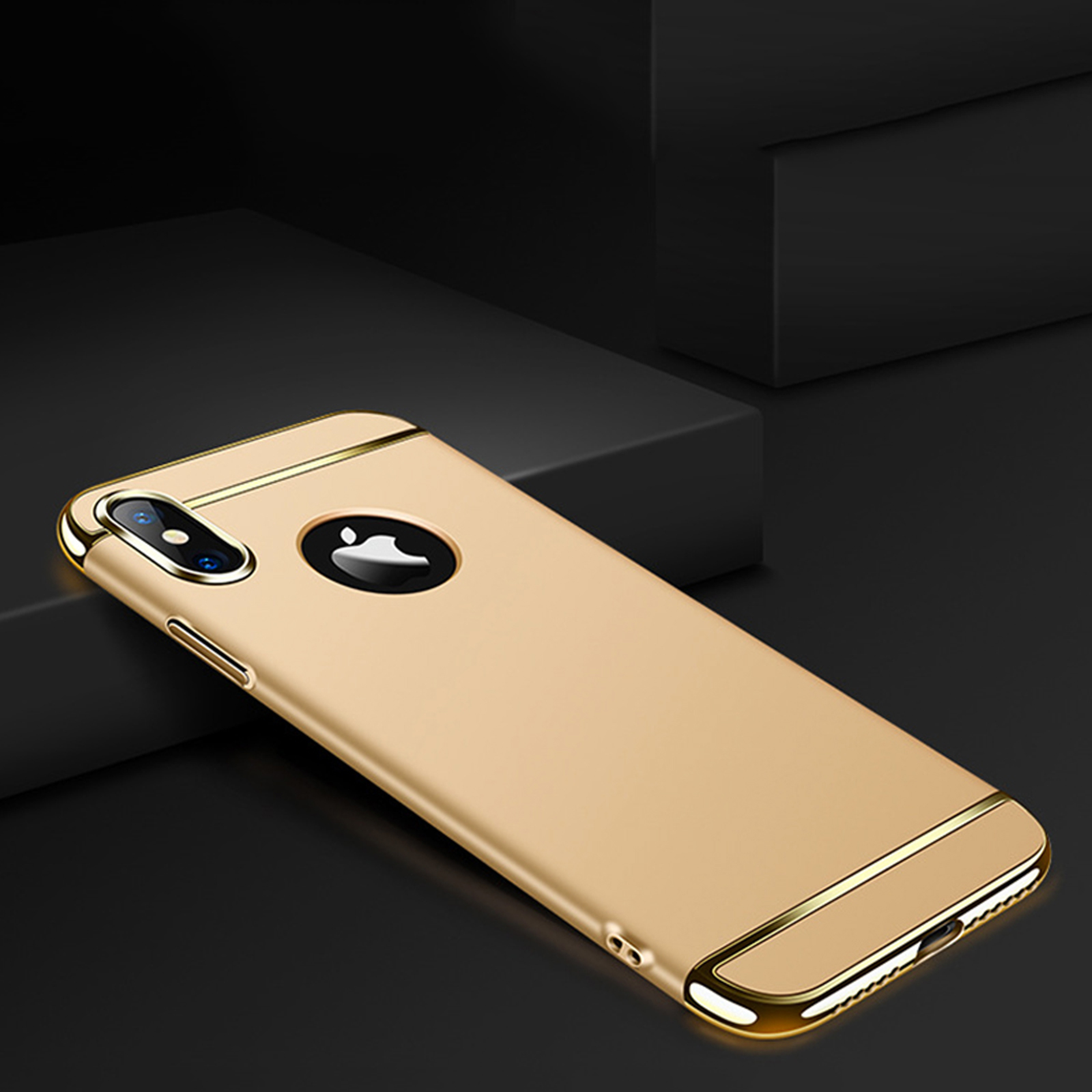 Luxury-Matte-Case-Tempered-Glass-Cover-For-Apple-iPhone-X-XS-XR-Max-10-8-7-6s-6 thumbnail 94