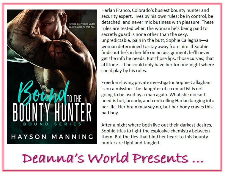 Bound To The Bounty Hunter by Hayson Manning blurb