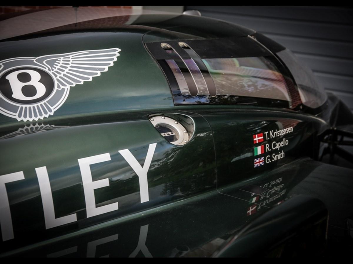 Team Bentley racing automobilia set for Historics December sale