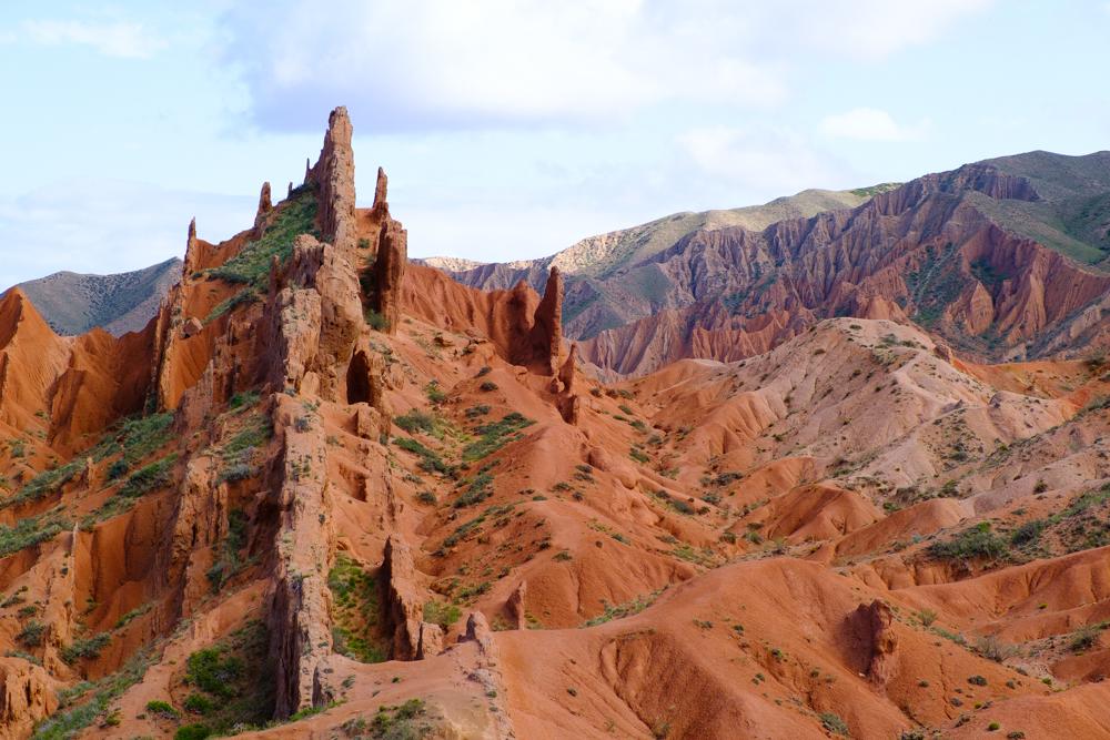 Shazka Canyon of Fairytale Canyon: een onaards landschap waar je helemaal in kan wandelen en klauteren.