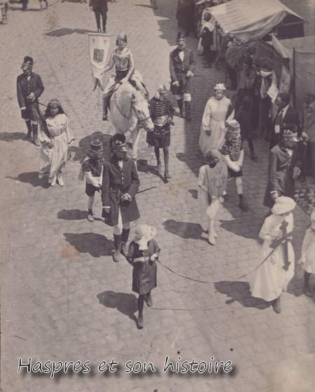 Marche allégorique, ascension 1922
