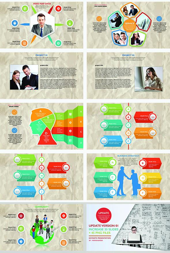 Infographic Keynote Presentation Update V.1 - 5