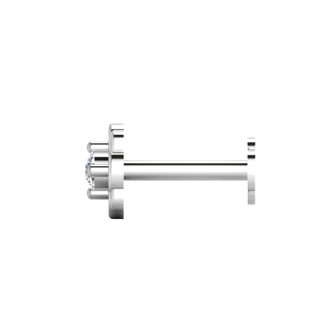 The Darpan Diamond Solitaire Nose Screw