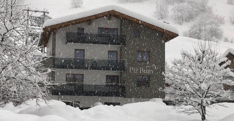Haus Piz Buin im Winter