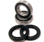 Rear Axle Wheel Bearings Seals Kit Suzuki LT-F160 LTF160 1991 1992 1993 1994