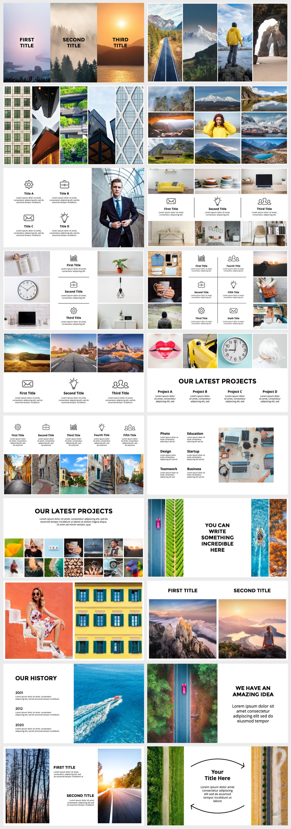 Huge Infographics Bundle! Lifetime Updates! PowerPoint, Photoshop, Illustrator. - 130