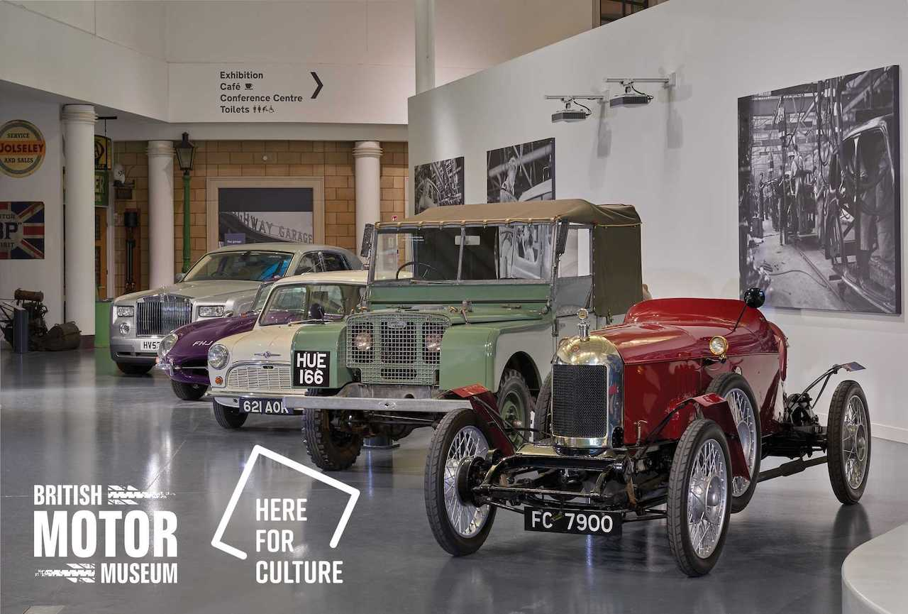 British Motor Museum makes Royal Automobile Club Historic Awards shortlist