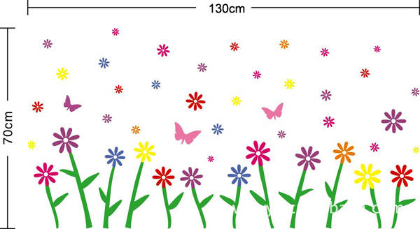 flower-butterfly-HM wall-decal