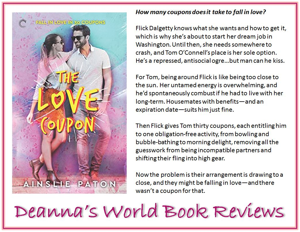 The Love Coupon by Ainslie Paton blurb