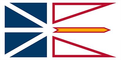 Bandera de Terranova y Labrador