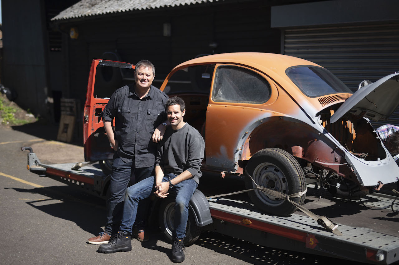 Wheeler Dealers Dream Car Exclusive Interview with Mike Brewer and Marc Priestly