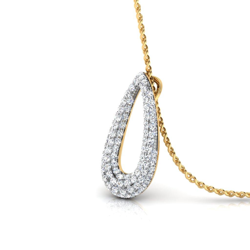 The Hook Up Diamond Pendant