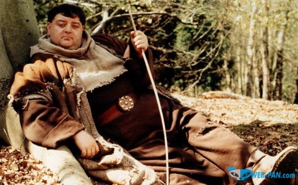 Вспоминаем отменное кино, Приключения Робин Гуда, и его товарищ, отец Тук!