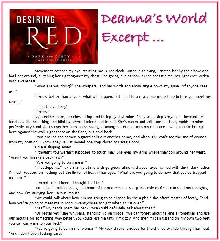 Desiring Red by Kristin Miller excerpt
