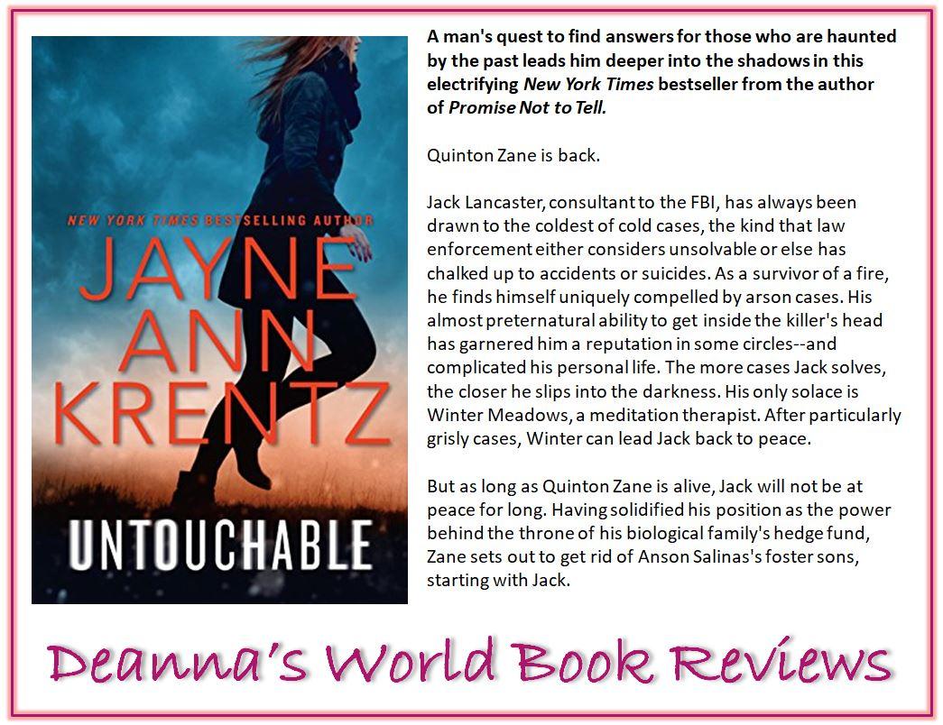 Untouchable by Jayne Ann Krentz blurb
