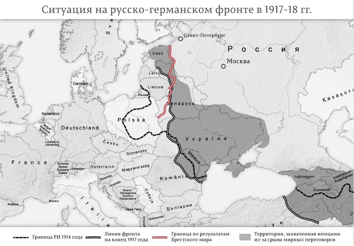 Геополитическая катастрофа Владимира Путина на карте России