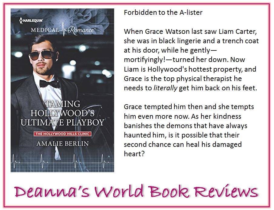 Taming Hollywood's Ultimate Playboy by Amalie Berlin blurb