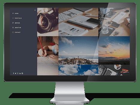 Azar – Free Responsive Portfolio Template