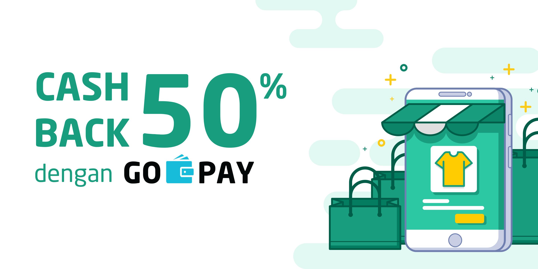 GO-PAY Berikan Promo Cashback 50% untuk Sahabat Selly