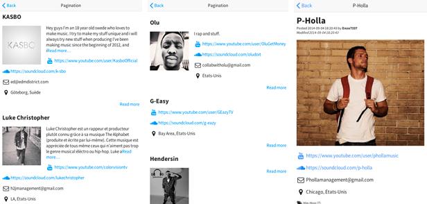 Sensation - PhoneGap / Cordova Full Hybrid App - 7