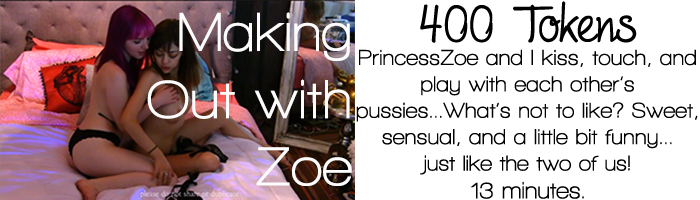 makeout with zoe