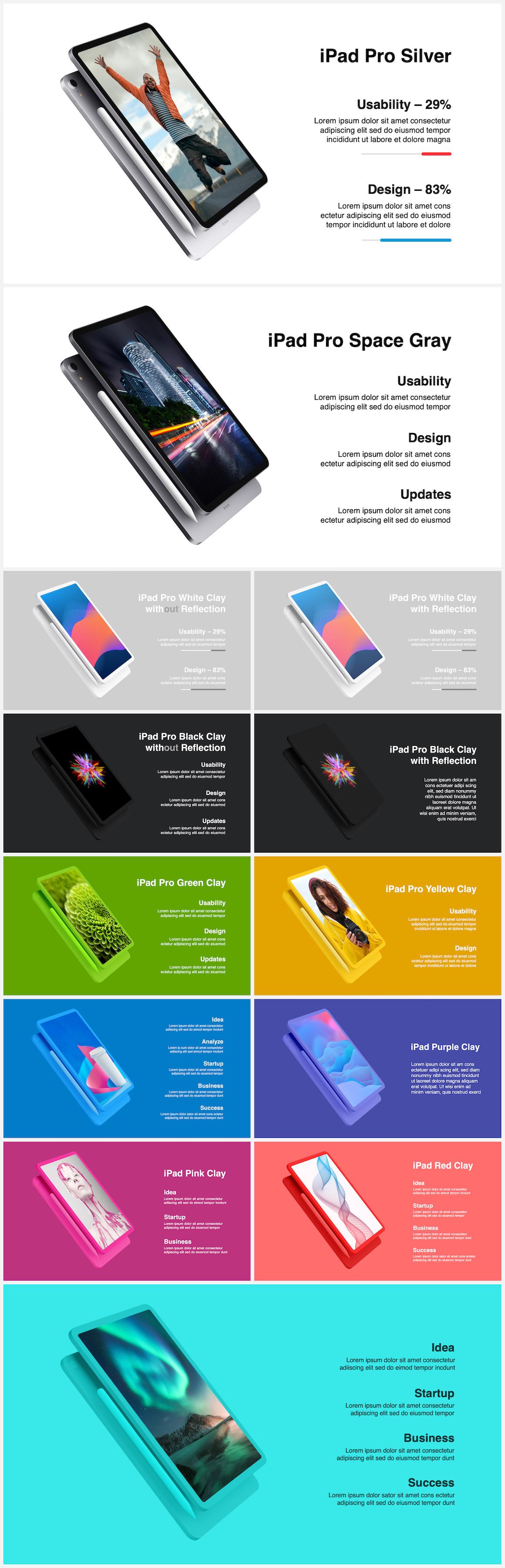 Huge Infographics Bundle! Lifetime Updates! PowerPoint, Photoshop, Illustrator. - 85