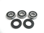 Boss Bearing 41-6278B-8G1-A-4 Rear Wheel Bearings and Seals Kit Honda CB450 S...