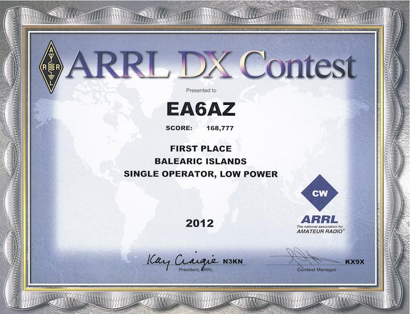 ARRL Award