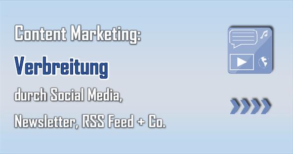 Durch Social Media, Newsletter, RSS Feed und Co. können Abonnenten und Follower gezielt erreicht werden.