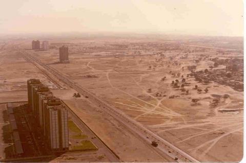 Dubai en 1990