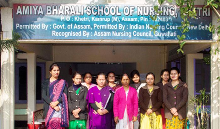 Amiya Bharali School Of Nursing Khetri