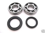 Main Crank Shaft Bearings and Seals Kit Kawasaki KXT250 Tecate 1984-1987