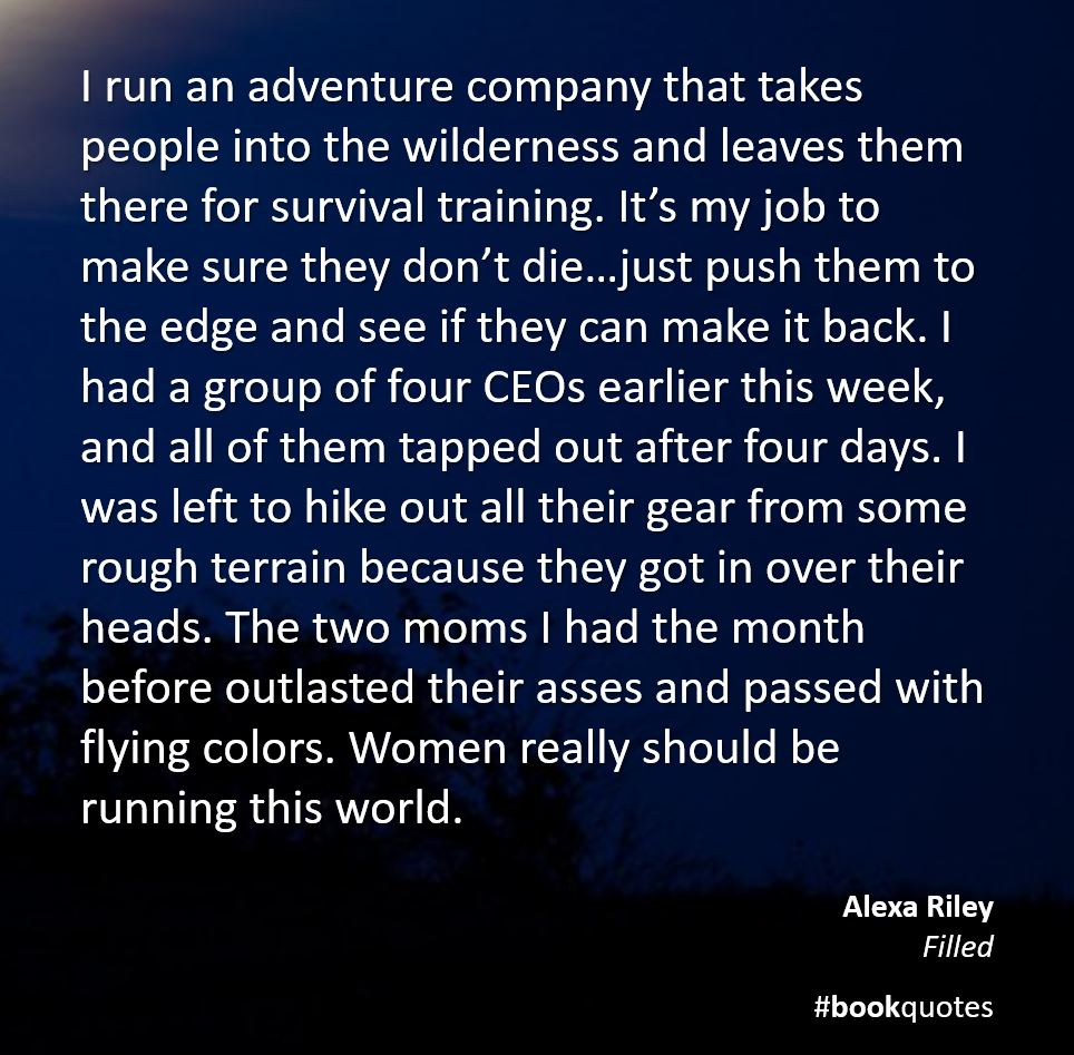 Book quote Alexa Riley