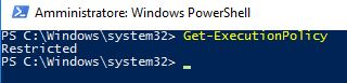 Powershell Restricted