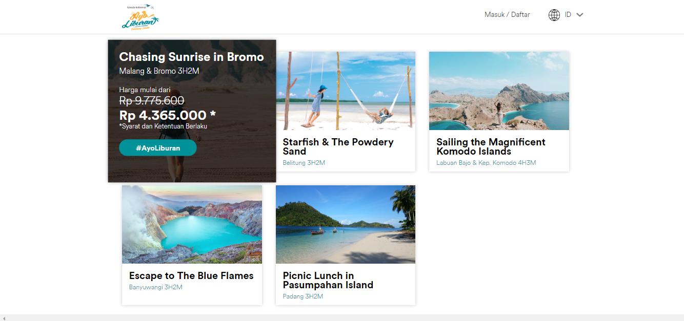 ayo liburan garuda indonesia