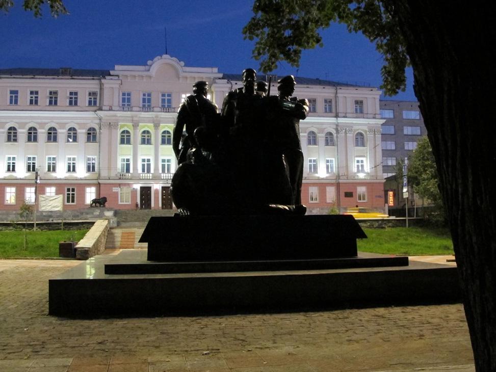Исторический вандализм в самом центре Перми