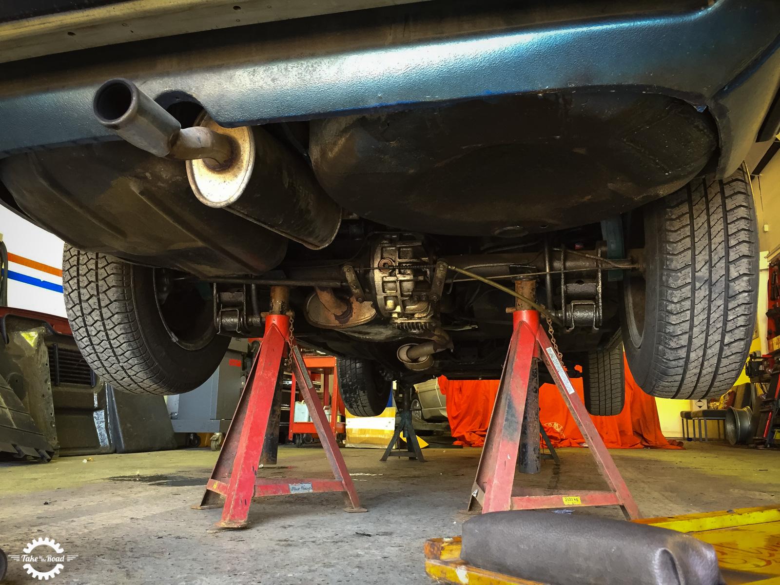 Preventative maintenance for a classic car
