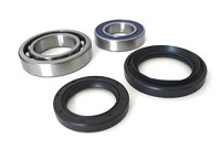 Rear Wheel Bearings and Seals Kit Yamaha YFM400 Kodiak 2WD 2000 2001