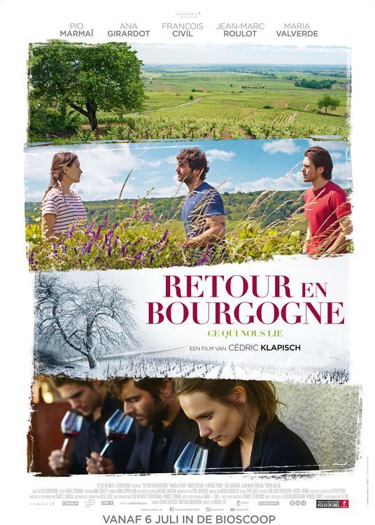 Franse Avond: Retour en Bourgogne