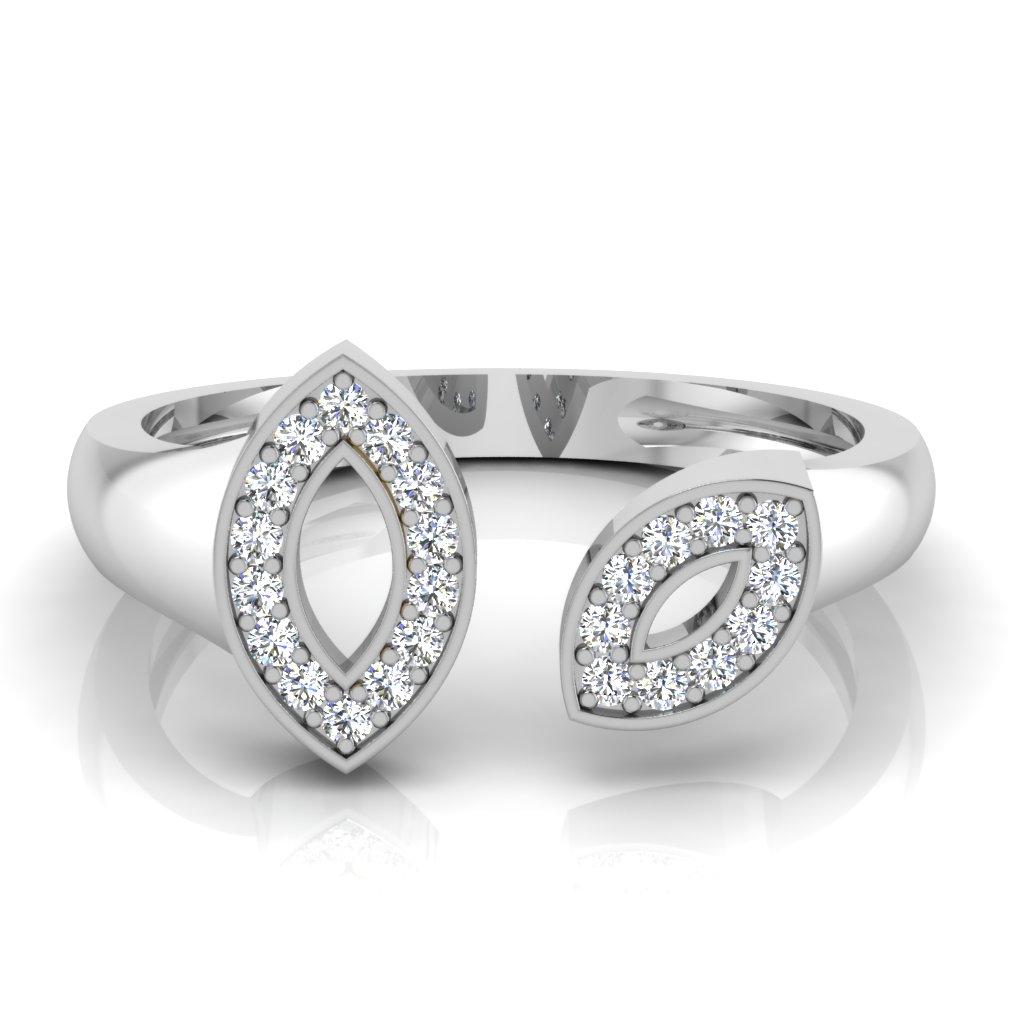 The Aabha Diamond Ring