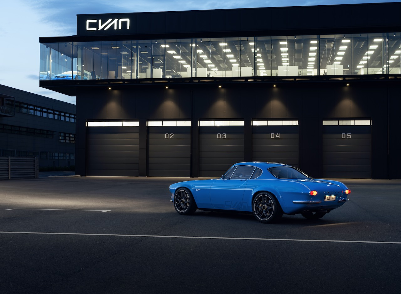 Cyan Racing unveils the Volvo P1800 Cyan